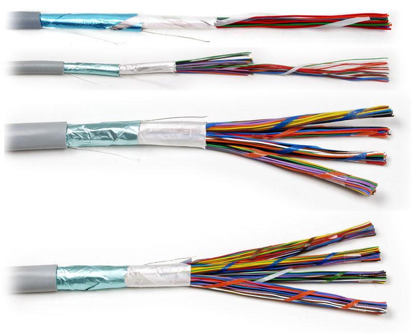 باند رول رنگی کابلها