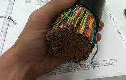 رنگ بندی کابل تلفن 400 زوجی