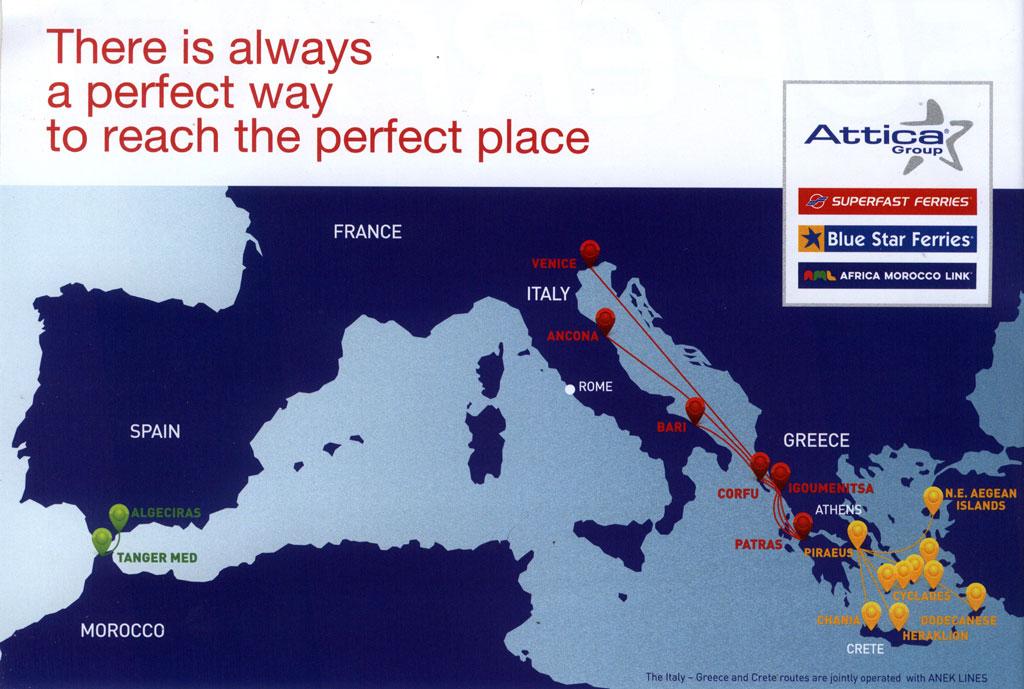 سفر اروپا با کشتی
