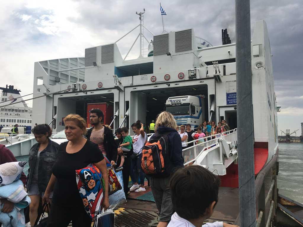سفر با کشتی از یونان به ایتالیا