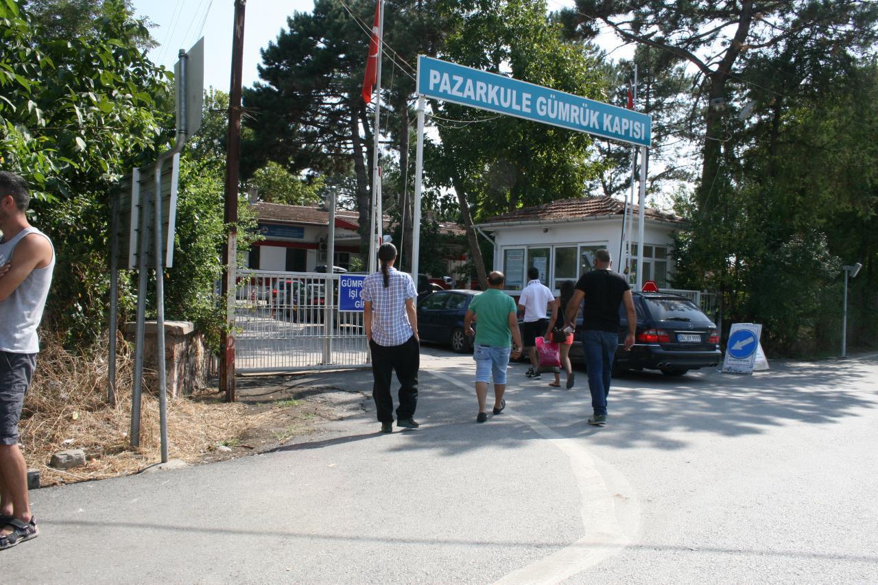 مرز یونان (پازارکوله) سفر به اروپا با خودروی شخصی