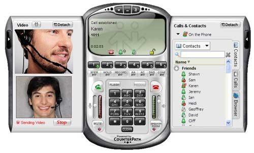 نرم افزار تلفن VOIP