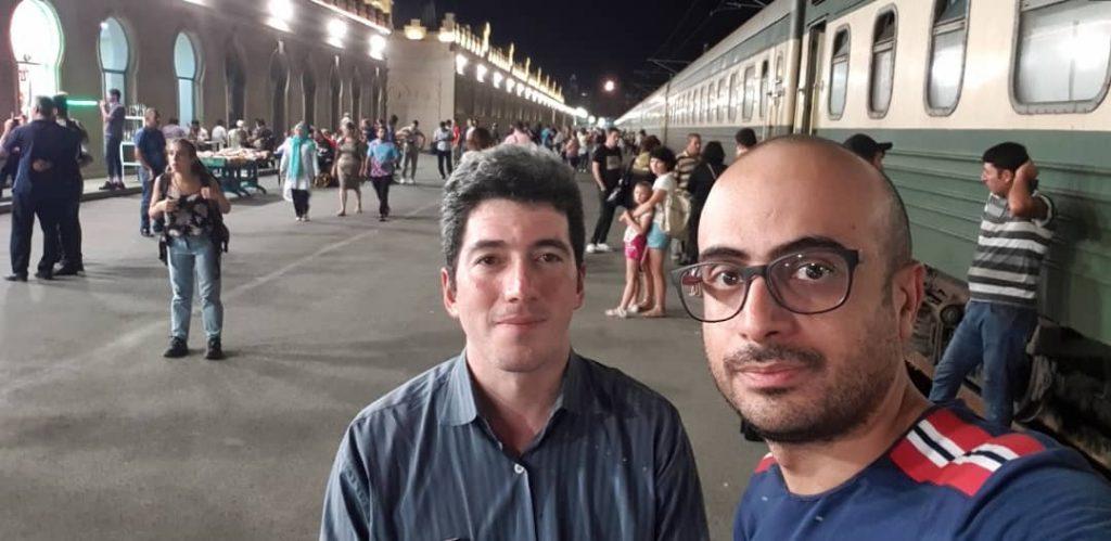 قطار باکو به تفلیس