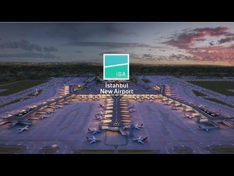 تصویر فرودگاه جدید استانبول
