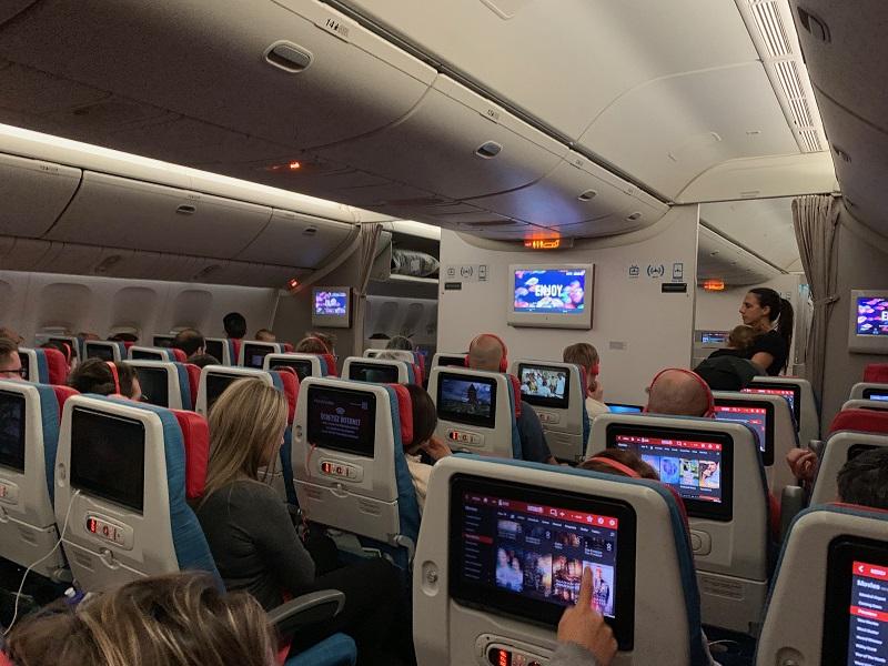 هواپیمای ترکیش به مقصد توکیو