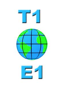 تفاوت خطوط T1 و E1