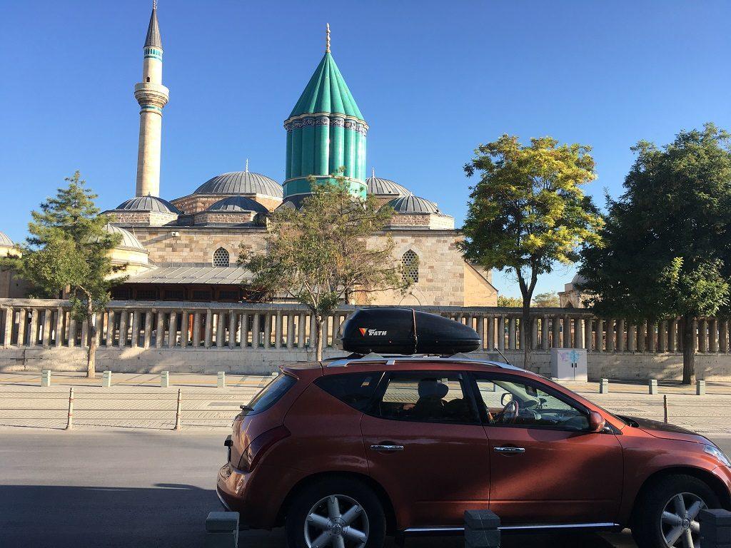آرامگاه مولوی در شهر قونیه ترکیه