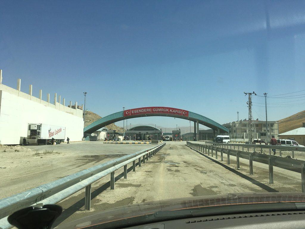 مرز اسندره یا سرو ترکیه و ارومیه