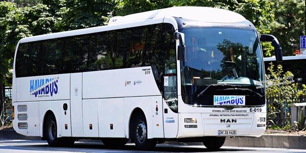 اتوبوسهای فرودگاه استانبول